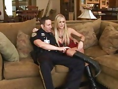 Wicked hotty Mckenzie Miles is picked up and cop screwed