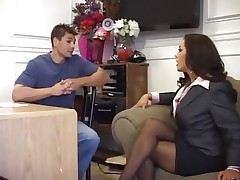 Horny MILF Franceska Le is pushed in her sweet butthole