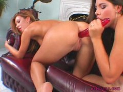 Bad Hotty Zafira Shares A Lengthy Rubber Toy With Her Friend