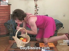 Randolph&Desmond kinky homosexual crossdresser video