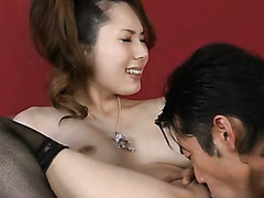 Babe can't stop moaning and coiling from being team-fucked well