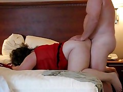 A fatty duet receives their large bodies to come jointly with the hooking of his cock inside her pussy. She's bent over and willing to handle the thrusts. Their bulky jiggles all the way to a couple of precious orgasms.