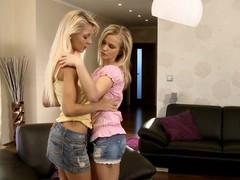 Spend time with charming lesbian honeys having fun on livecam