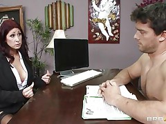 This hot brunette MILF cannot stop herself from reacting to the juvenile fellow sitting across from him. therefore, that playgirl moves in for the kill and soon sufficiently that playgirl has him exactly where that playgirl wants. Unable to stop himself. Once that playgirl have her, this chab will do anything that that playgirl wants him to do and then some.