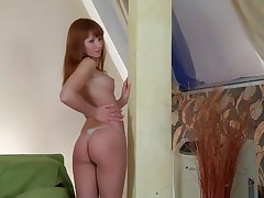 Isn't that honey a beauty? So fragile and horny this chick wants to masturbate and that honey does it in front of the camera for us. Let's keep this natural beauty some company as that honey discloses us her tight cunt between these hot legs. That babe actually deserves our attention and a orgasm.