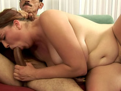 Very hot curly ebon can't live without getting her smutty cleft stuffed hard!