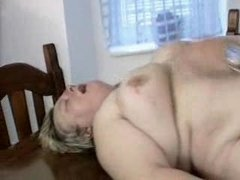 overweight german milf receives drilled